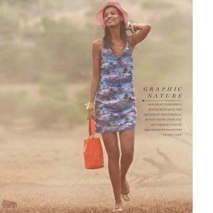 J. CREW Carrie Dress in Hawaiian Sunset